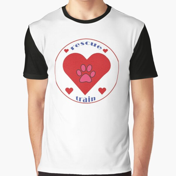 Rescue And Train Your Pup  Graphic T-Shirt