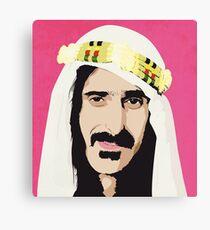 Zappa! Canvas Print