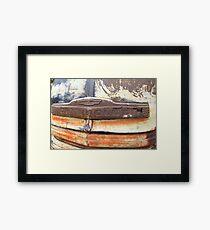 Patina Grill Framed Print