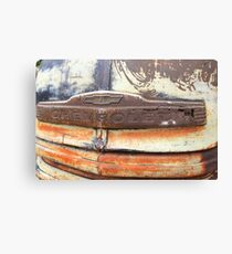 Patina Grill Canvas Print