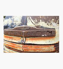 Patina Grill Photographic Print