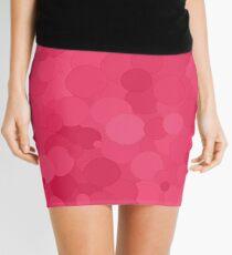 Honeysuckle Bubble Dot Color Accent Mini Skirt