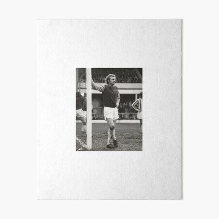 Iconic Bobby Moore Goalpost Shot Art Board Print