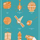 1960s Satellites by Chloe Morris
