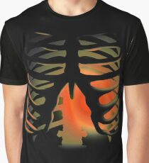 Heart Cage Graphic T-Shirt