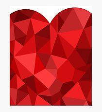 Corset - Hearts Delight Diamonds Photographic Print