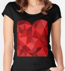 Corset - Hearts Delight Diamonds Women's Fitted Scoop T-Shirt