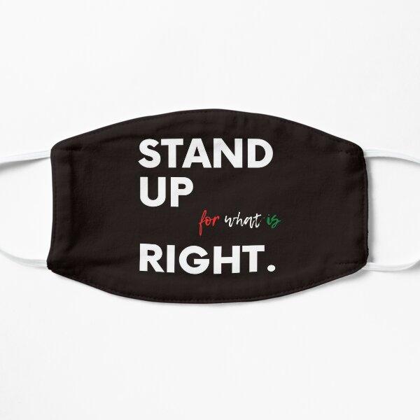 Stand up for Palestine Masque sans plis