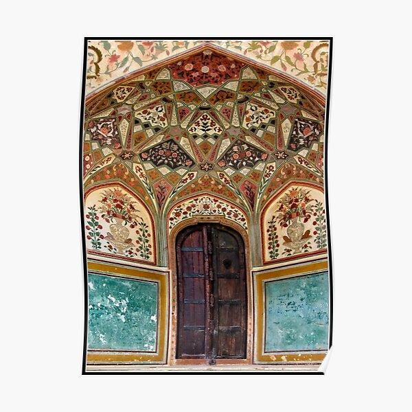 Jaipur Jewelled Doorway Poster