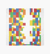 Lego - seamless vector pattern of plastic parts Scarf