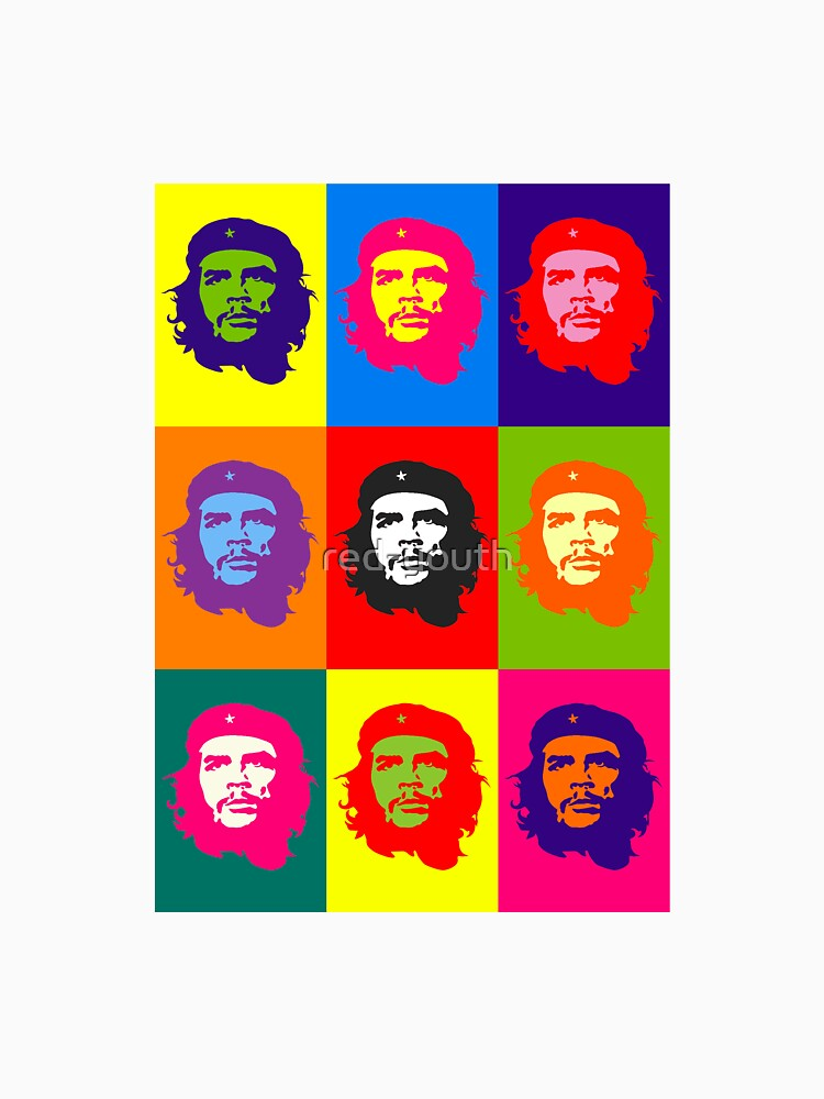 CHE GUEVARA - MULTIPLE GRAFFITI by red-youth