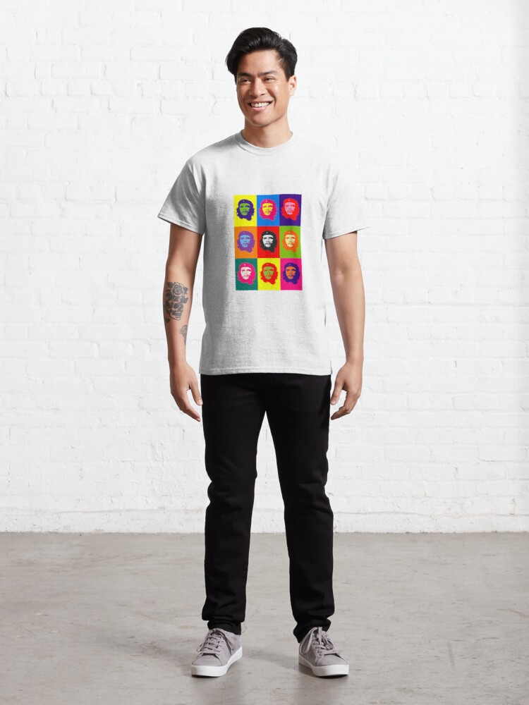 Alternate view of CHE GUEVARA - MULTIPLE GRAFFITI Classic T-Shirt