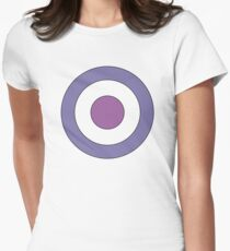 Hawkeye Target Women's Fitted T-Shirt