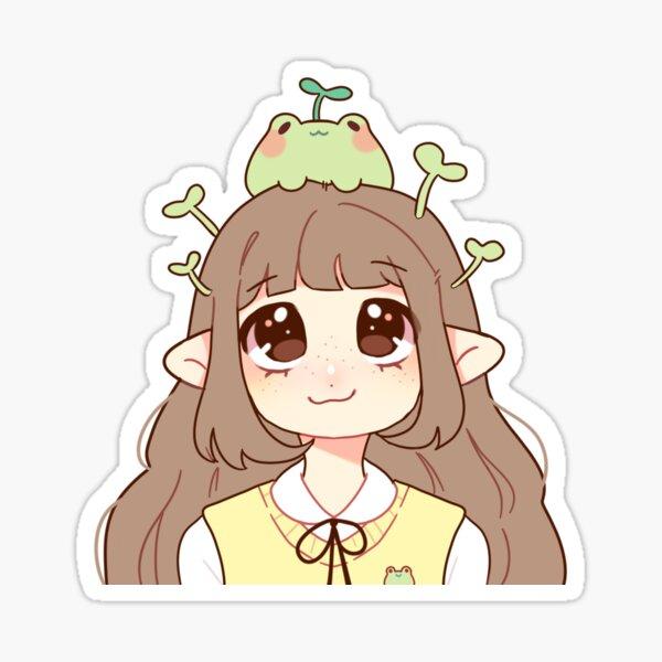frog friend! Sticker