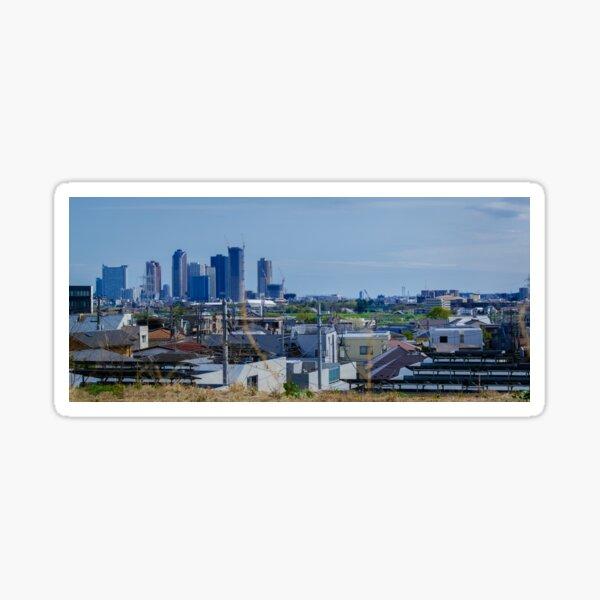 Tokyo Metropol Skyline - 東京 Sticker