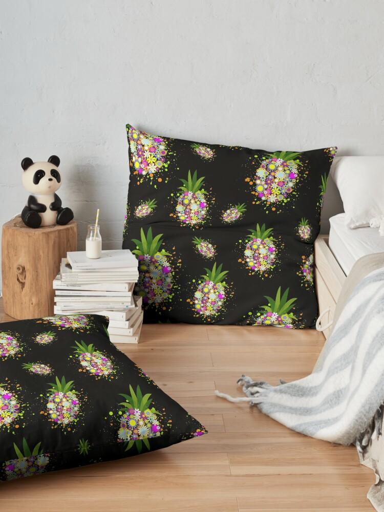 Alternate view of Positive Pineapple Floor Pillow