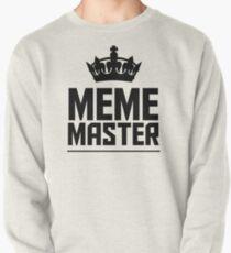 Meme Master Pullover Sweatshirt