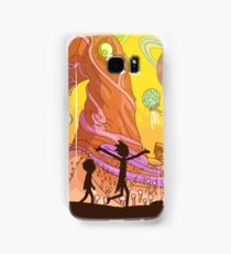 Rick and Morty  Samsung Galaxy Case/Skin