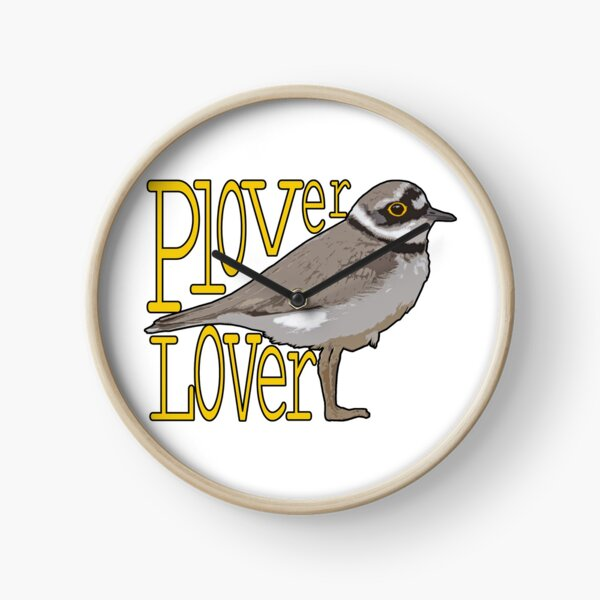 Plover lover Clock