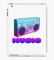 80s Music art style iPad Case/Skin