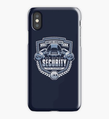 ED-209 - OCP Detroit Security - Tech Support iPhone Case/Skin