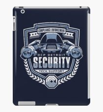 ED-209 - OCP Detroit Security - Tech Support iPad Case/Skin