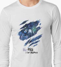 Re:Zero scratches Long Sleeve T-Shirt