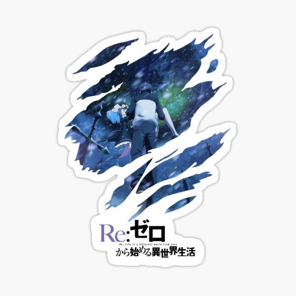 Re:Zero scratches Sticker
