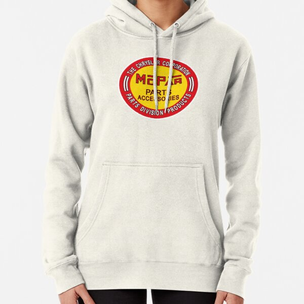 MOPAR VINTAGE CAR COMPANY SHIRT AND STICKER  Pullover Hoodie