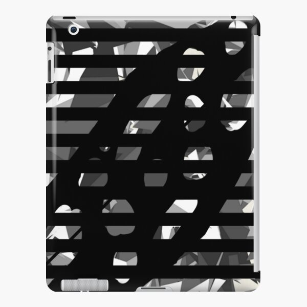 Black and white iPad Snap Case