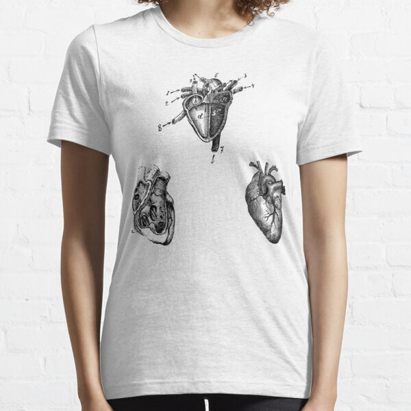 Vintage Heart Anatomy Essential T-Shirt