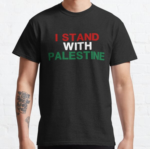 Je suis avec la Palestine T-shirt classique