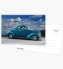 1937 Ford Coupe Postcards