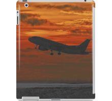 Sunset Plane iPad Case/Skin