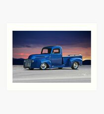 1946 Ford Custom Pickup Art Print