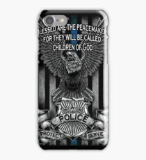 Children of God-Blue Lives Matter iPhone Case/Skin