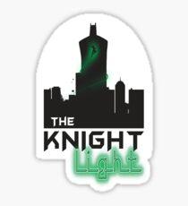 The knight light podcast merch  Sticker