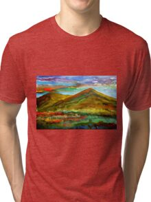 Mourne Abstract 1 Tri-blend T-Shirt