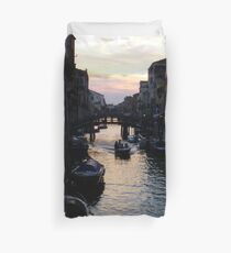 Venetian Sunset Duvet Cover