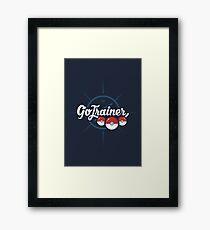 Go Trainer Framed Print