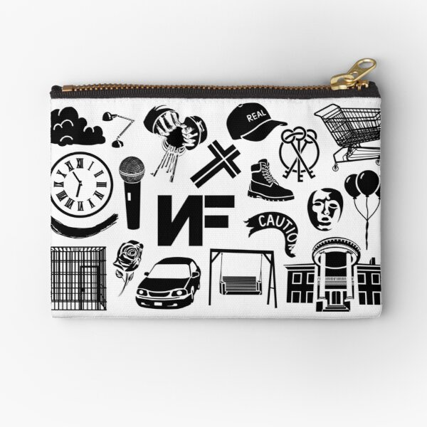 NF Collage Zipper Pouch