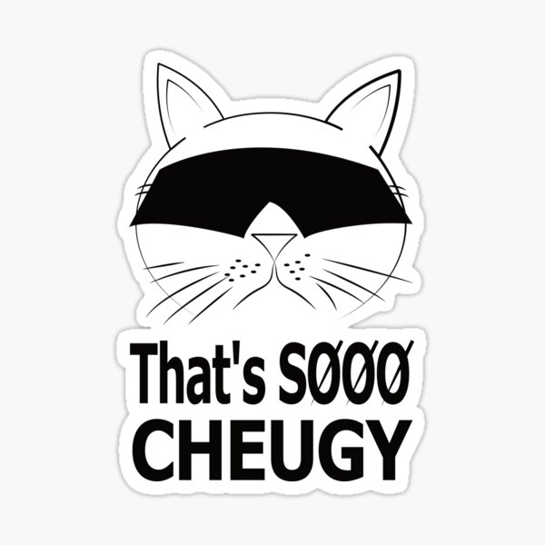 That's SOOO Cheugy T-Shirt  Sticker