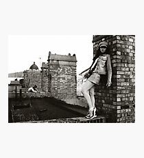 Michelle, King's Cross Squatters (London, 2002) Photographic Print
