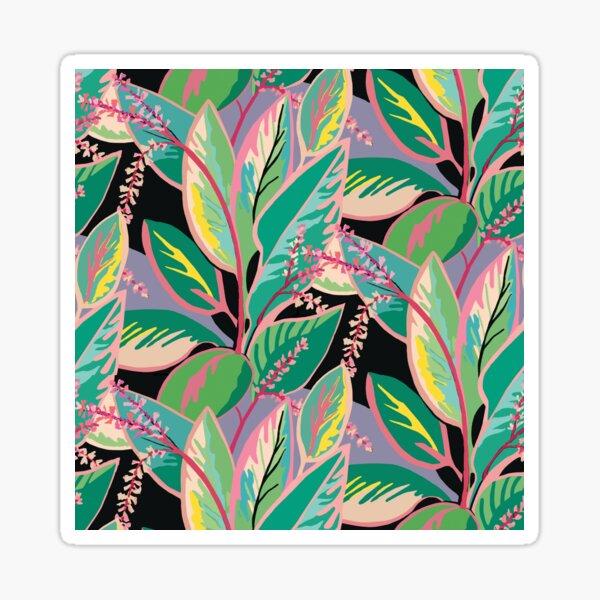 Tropical Ti Leaf Bloom Sticker