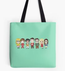 Sheldon and Friends Tote Bag