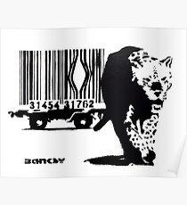 BANKSY - BARCODE Poster