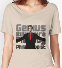 Genius billionaire playboy philanthropist. (fanart) Women's Relaxed Fit T-Shirt