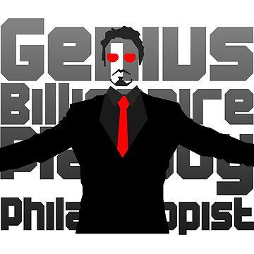 Genius billionaire playboy philanthropist. (fanart) by icecube928s4