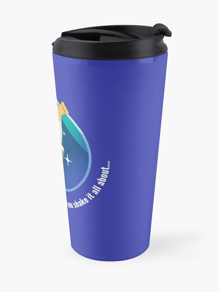 Alternate view of You Put Your Right Hand In And You Shake It All About Toilet Fun Travel Mug