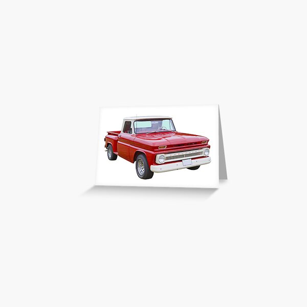 1965 Chevrolet Pickup Truck Greeting Card